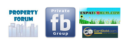 Facebook Private Group, expat & property forum