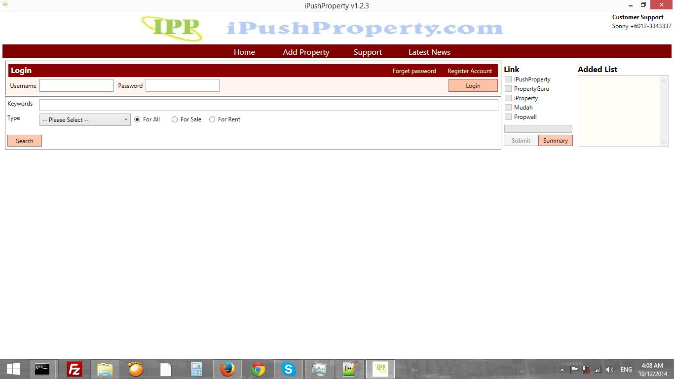 I Push Property Program