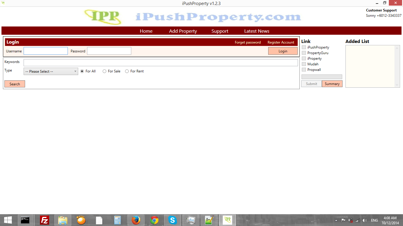 I Push Property Program